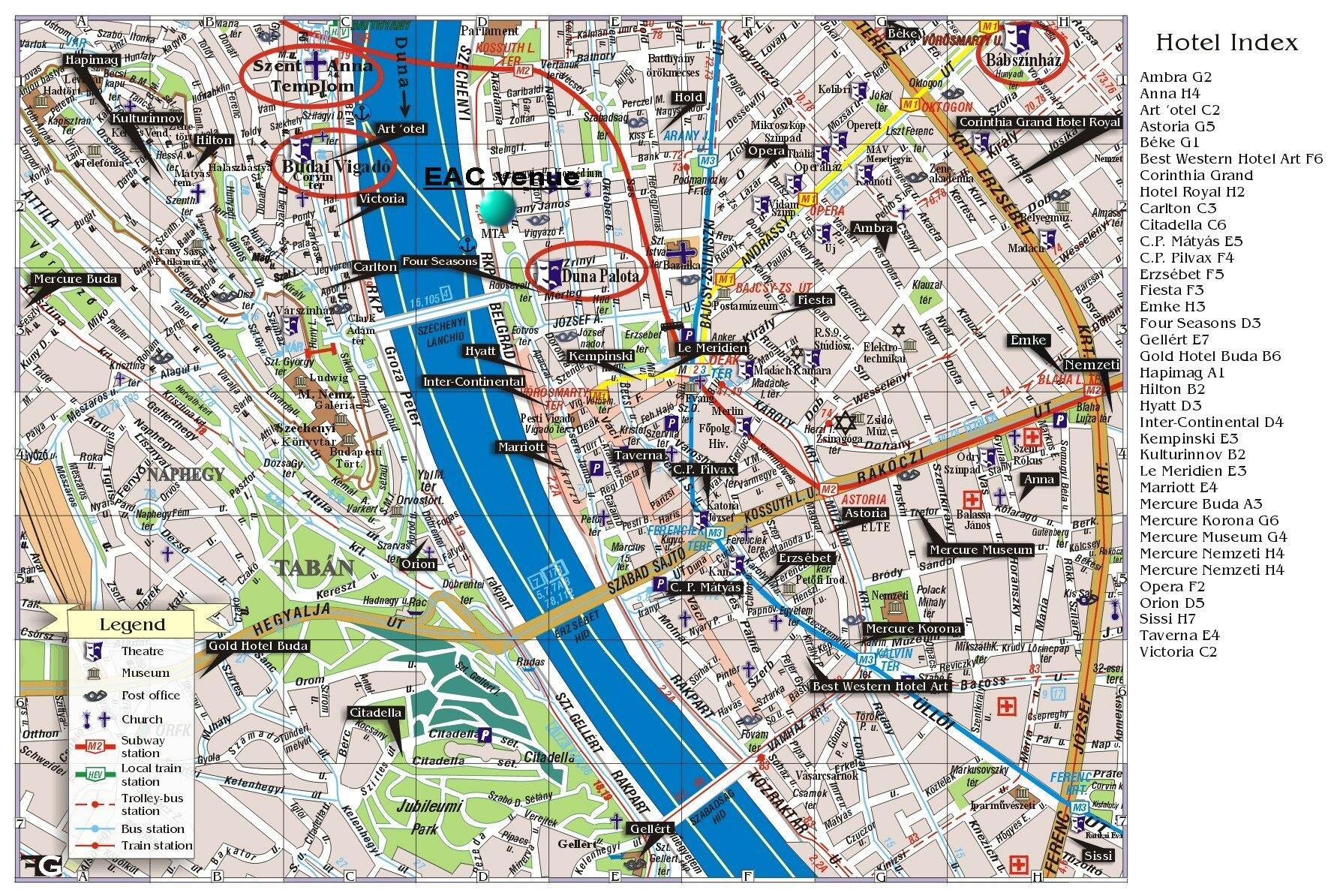 Budapest Map Online Map – Budapest Tourist Map